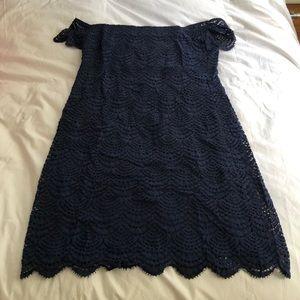Lilly pulitzer Jade dress in navy